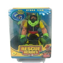 2005 Rescue Heroes Hydro Team Gil Gripper Scuba Diver Action Figure Swim... - $28.01