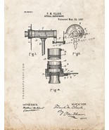 Optical Instrument Patent Print - Old Look - $7.95 - $10.95