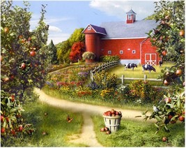 """Farm Landscape 16X20"""" Paint By Number Kit DIY Acrylic Painting on Canvas... - $8.90"""