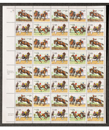 Horse Racing, Sheet of 29 cent stamps, 40 stamp... - $13.50