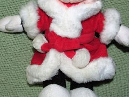 DISNEY STORE BABY Pink Easter Bunny & Mrs. Santa Claus Minnie Mouse Plush Dolls image 9