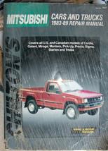 Mitsubishi Car & Truck Repair Manual 83-89 Chilton's - $14.50