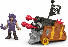 Fisher-Price Imaginext Davey Jones & Triple Cannon - $29.99
