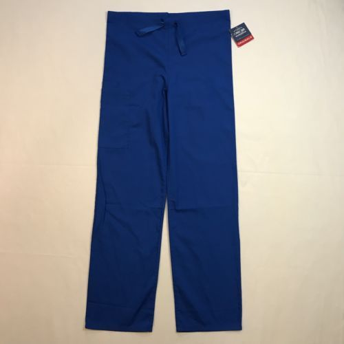 264d876dafd 12. 12. Previous. Cherokee Unisex Scrubs BOYW Blue Side Pockets Nurse Drawstring  Doctor Pants 4100