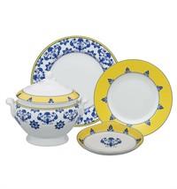 Vista Alegre Portugal Porcelain CASTELO BRANCO DINNER SET 70 PIECES PF05... - $1,684.30