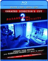 Paranormal Activity 2 (Unrated Director's Cut Blu-ray/DVD Combo) (2010)