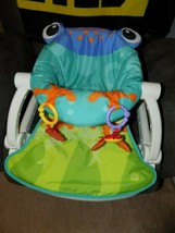 Fisher Price BFB07 Sit-Me-Up Frog Floor Seat EUC - $44.00