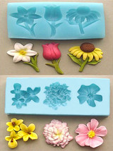 Sugarcraft Molds Cake Decorating Tools  FLOWER set mold 04 - $39.27