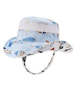 Baby Toddler Safari Sun Protection Hat 50 UPF - Double-Sided Available K... - $10.94