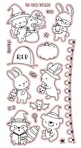 "Cute Animals Halloween Stamp Set ""Be Very Afraid"""