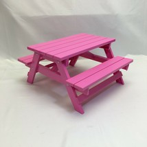 """Our Generation Replacement Picnic Table PART ONLY, Pink (14"""" x 12"""" x 9"""")... - $35.27"""