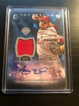 AARON NOLA 2016 BOWMAN INCEPTION AUTOGRAPH JERSEY ROOKIE RC PHILLIES IAR... - $19.79