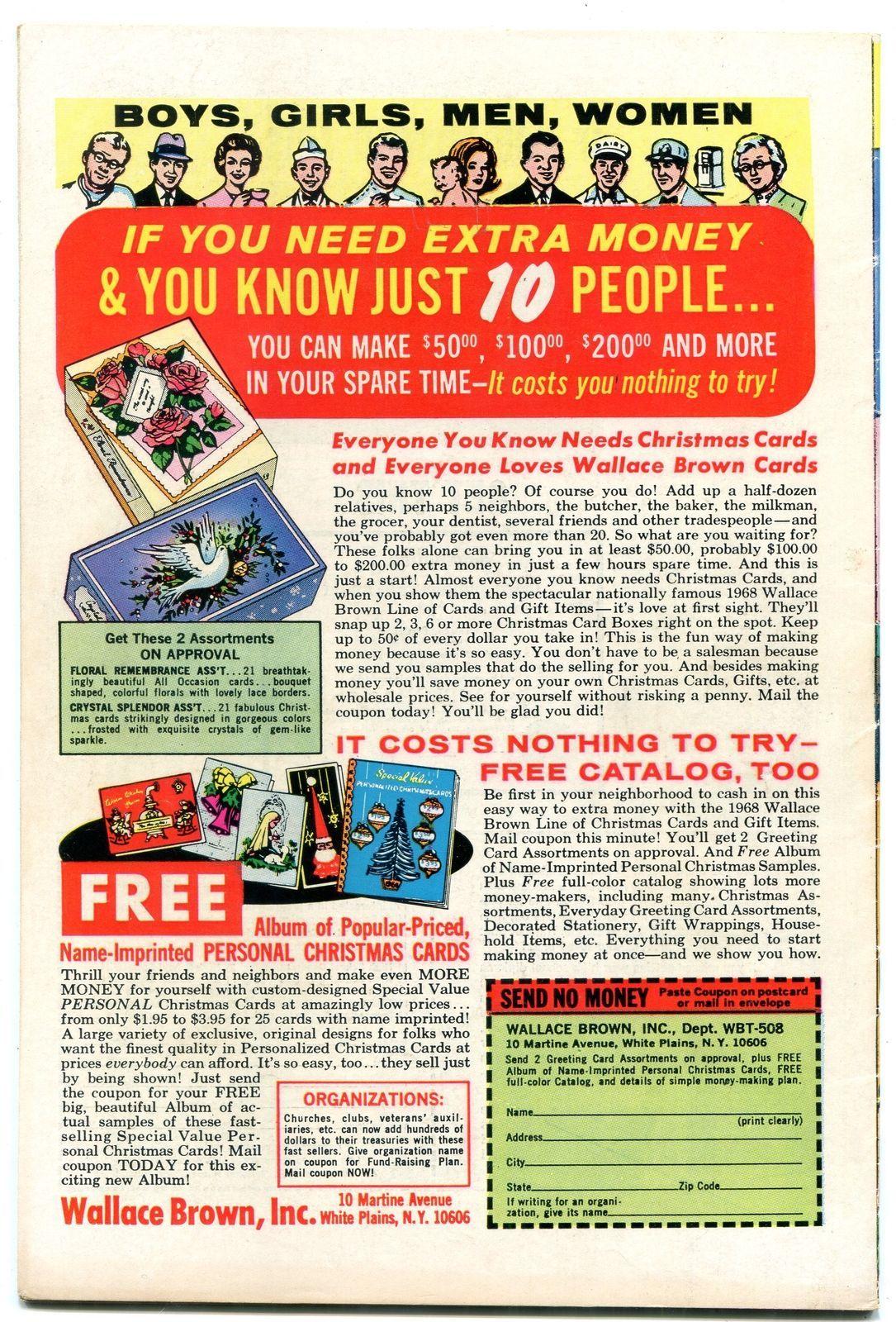 Archie Comics #186 1968- Silver Age-Betty & Veronica- f/vf image 2