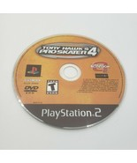 Tony Hawk's Pro Skater 4 (Sony PlayStation 2, 2002) Disc Only Tested - $7.82