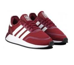 Adidas N-5923 Burgundy White B37958 Mens Trainers Shoes Size 9 - $59.95
