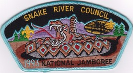 Snake River Council JSP - 1993 National Scout Jamboree - $9.75