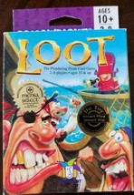 Loot The Plundering Pirate Card Game 100% Complete Gamewright 2005 - $20.57