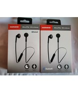 2 xMagnavox Shuffle Wireless Hands Free Bluetooth Earbud Headphones with... - $14.00