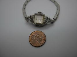 Vintage Women's Hallmark 25 Jewels 10k Rolled Gold Plated Hand Wind Watch image 11