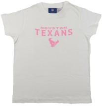 Large 14 NFL Girl's Houston Texans Shirt T-Shirt Short Sleeve Football Tee NEW