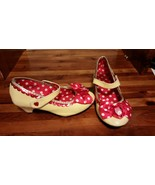 DISNEY STORE MINNIE MOUSE YELLOW SHOES W HEEL SIZE 13/1 - $12.50