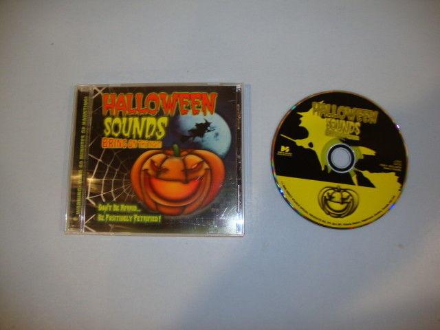 halloween sounds by various artists cd jun 2005 direct source