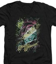 Wonder Woman Sparkle T-shirt DC comic book Batman superhero cotton tee DCO182 image 1