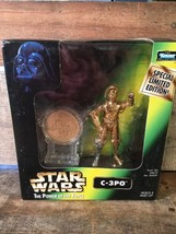 Star Wars C-3PO Toy Action Figure 1998 Kenner NEW Limited Edition POTF - $9.89