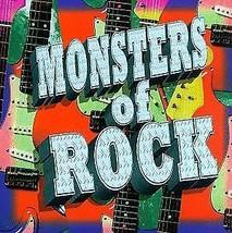 Various Artists ( Monsters Of Rock ) CD - $1.98