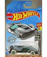 2019 Hot Wheels Treasure Hunt #220 HW Space 3/5 CYBER SPEEDER Gray w/Whi... - $7.25