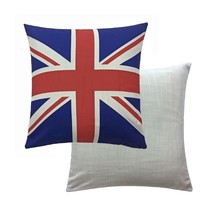 "6 X Union Jack Red White Blue 17"" - 43CM Cushion Covers - $46.86"