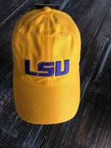 NIKE SEC LSU Tigers NCAA HERITAGE86 Dri-Fit Cap Yellow Purple Strapback ... - $27.72