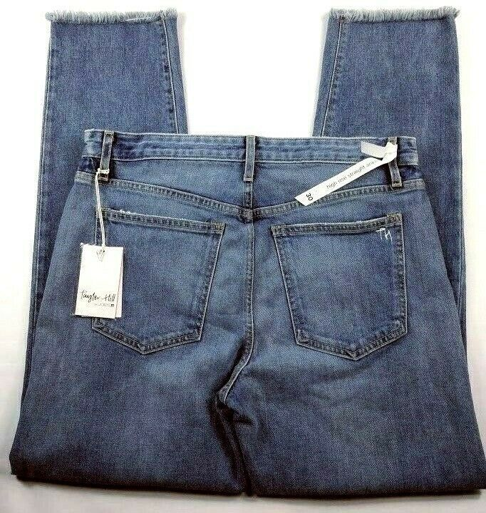Joe's Jeans Taylor Hill Womens Jeans Size 30 Medium Wash Debbie Ankle Button Fly
