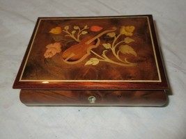 """Reuge , Music Box , Sorrento ,""""Try To Remember"""" ,6""""X5""""X2"""" ,Vintage , Col... - $75.00"""