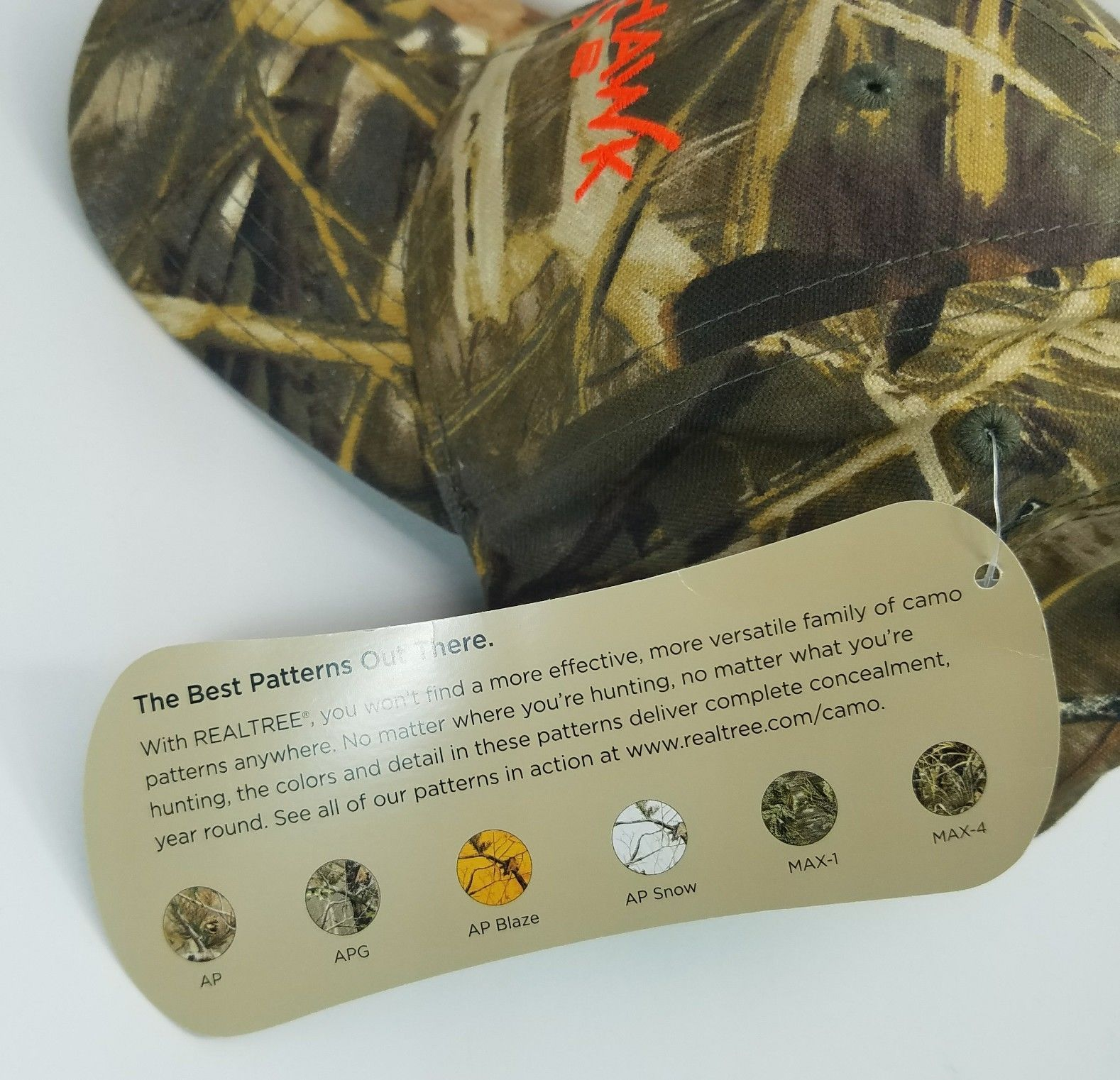REALTREE BLACKHAWK OPS CAMO HAT HUNTING HUNTER