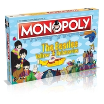 Beatles Yellow Submarine MONOPOLY Board Game RARE OOP Sgt. Pepper's Pepperland  image 1