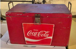 Coca Cola Airline Cooler Ice Chest ORIGINAL VintageAntique - $233.74
