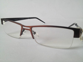 Reading Glasses +3.00 with black and brown SUPRA frame 55056 - $9.68