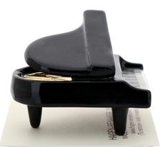 Hagen-Renaker Miniature Ceramic Dollhouse Black Baby Grand Piano image 2