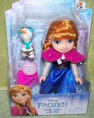 "Primary image for My First Disney FROZEN Petite ANNA with OLAF 6"" Doll New"