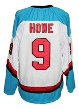 Any Name Number Detroit Vipers Retro Hockey Jersey White Howe #9 Any Size image 2