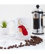Aries Zodiac Girl Coffee Mug - $22.00