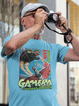 Gamera The Giant Monster T Shirt retro Japanese science fiction film graphic tee image 3