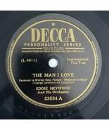 THE MAN I LOVE / ON THE SUNNY SIDE OF THE STREET Eddie Heywood Jazz Decc... - $11.25