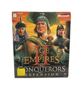 Age of Empires II 2 The Conquerors Expansion (PC 2000) Game BIG BOX Release RARE - $39.60