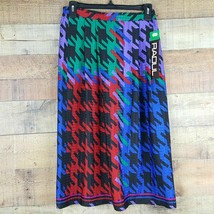 Raoul Side Zip Skirt Womens Size 10 Multi Color Made in Costa Rica TE22 - $10.39