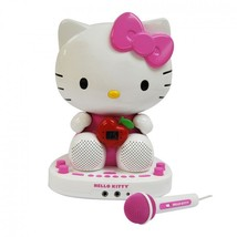 Hello Kitty CDG Karaoke System with Built-in Video Camera - $144.99