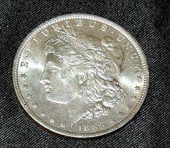 1885 O Morgan Silver Dollar AA19-CND6050a image 3