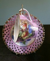 Vintage Gold Guild Apple Pattern Royal Halsey Very Fine Tea Cup & Saucer - $20.99