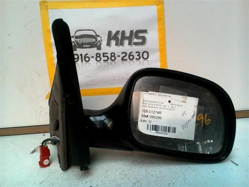 Primary image for Passenger Side View Mirror Power Heated Fits 96-00 CARAVAN 80250